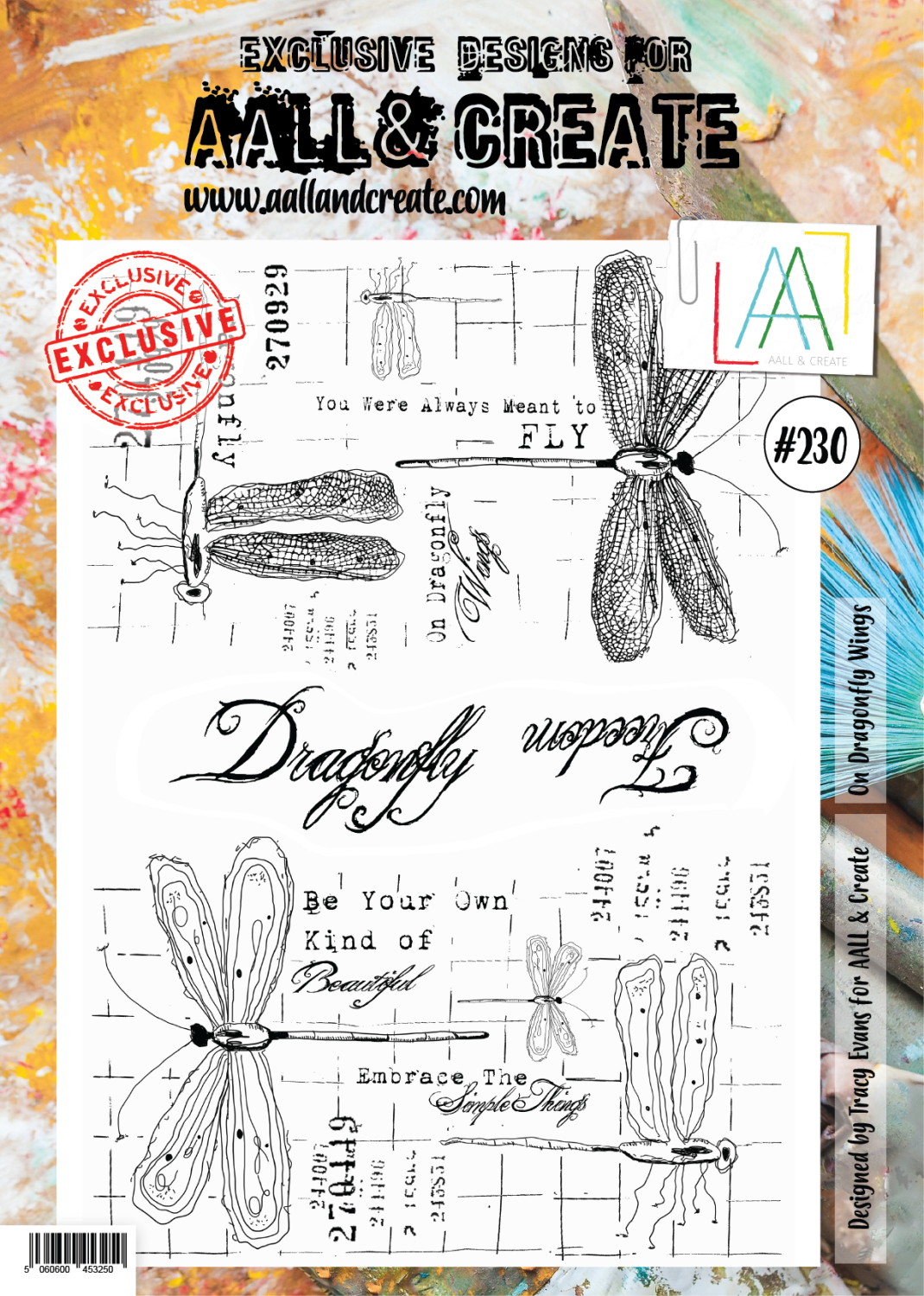 Aall&Create - #230 - A4 - On Dragonfly Wings