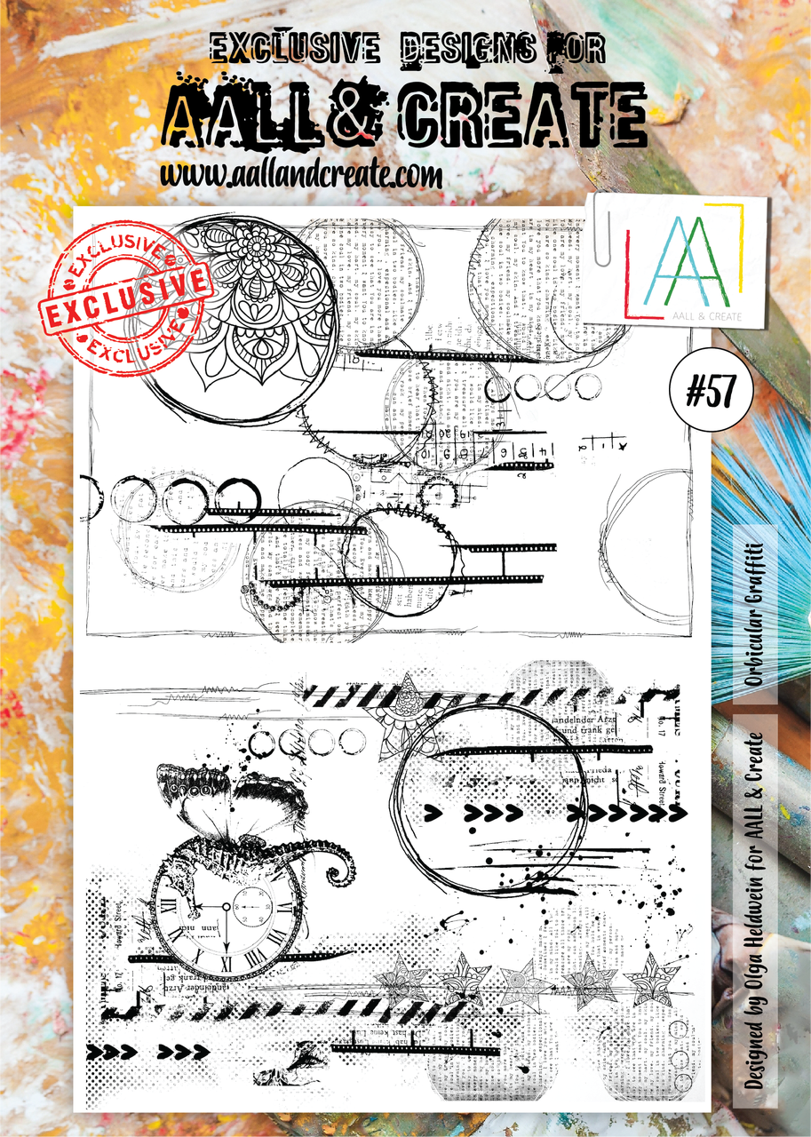 Aall&Create - #57 - A4 - Orbicular Graffiti