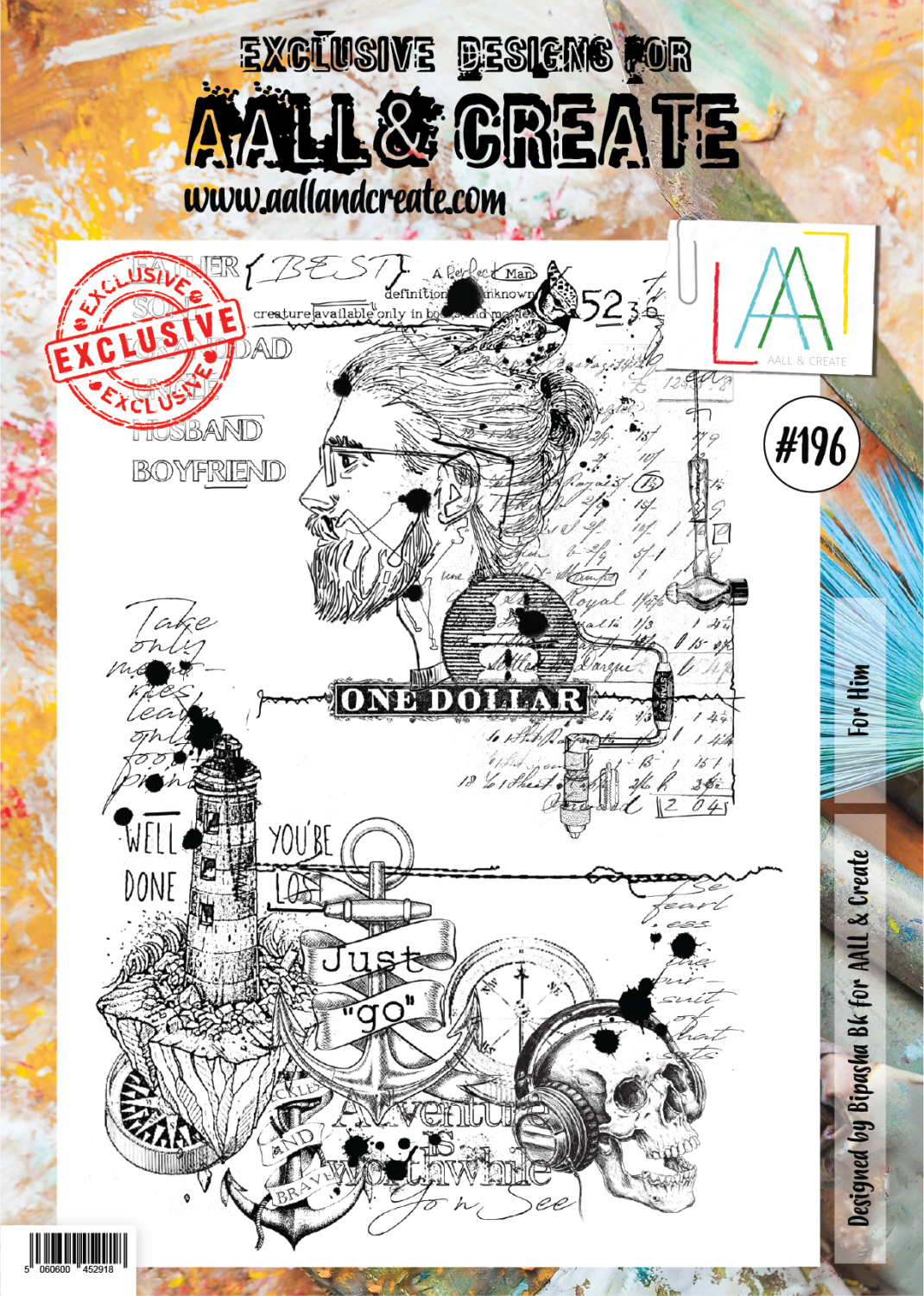 Aall&Create - A4 - #196 - For Him