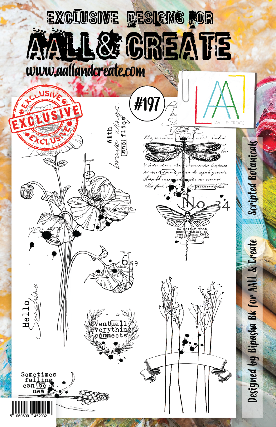 Aall&Create - A5 - #197 -  Scripted Botanicals
