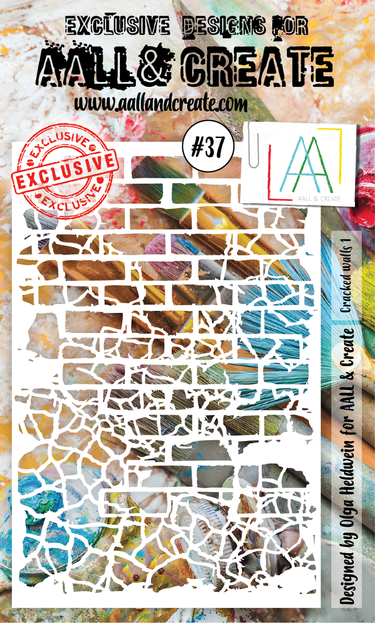 Aall&Create - A6 - #37 - Cracked walls 1