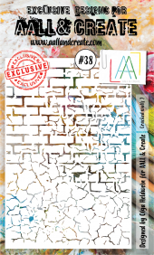Aall&Create - A6 - #38 - Cracked walls 2