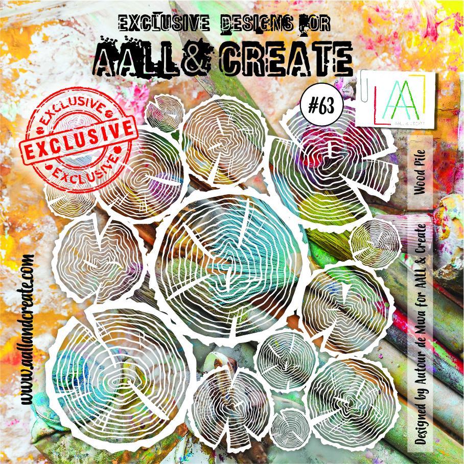 Aall&Create - 6 x 6 - #63 - Wood Pile