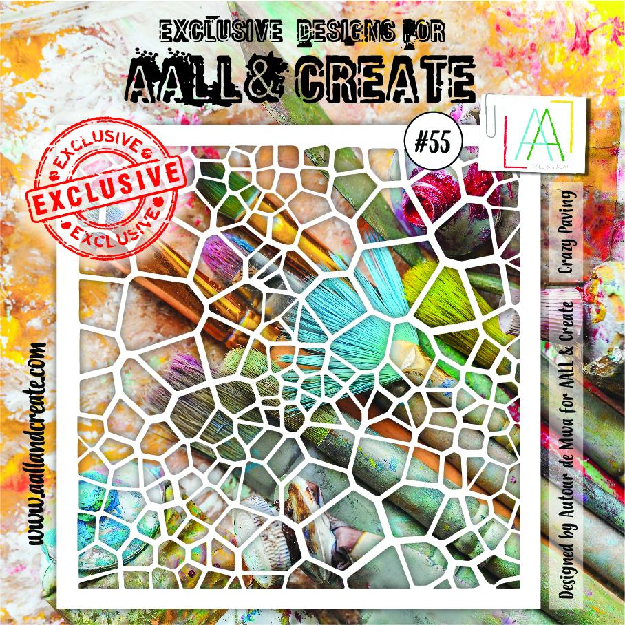 Aall&Create - 6 x 6 - #55 - Crazy Paving
