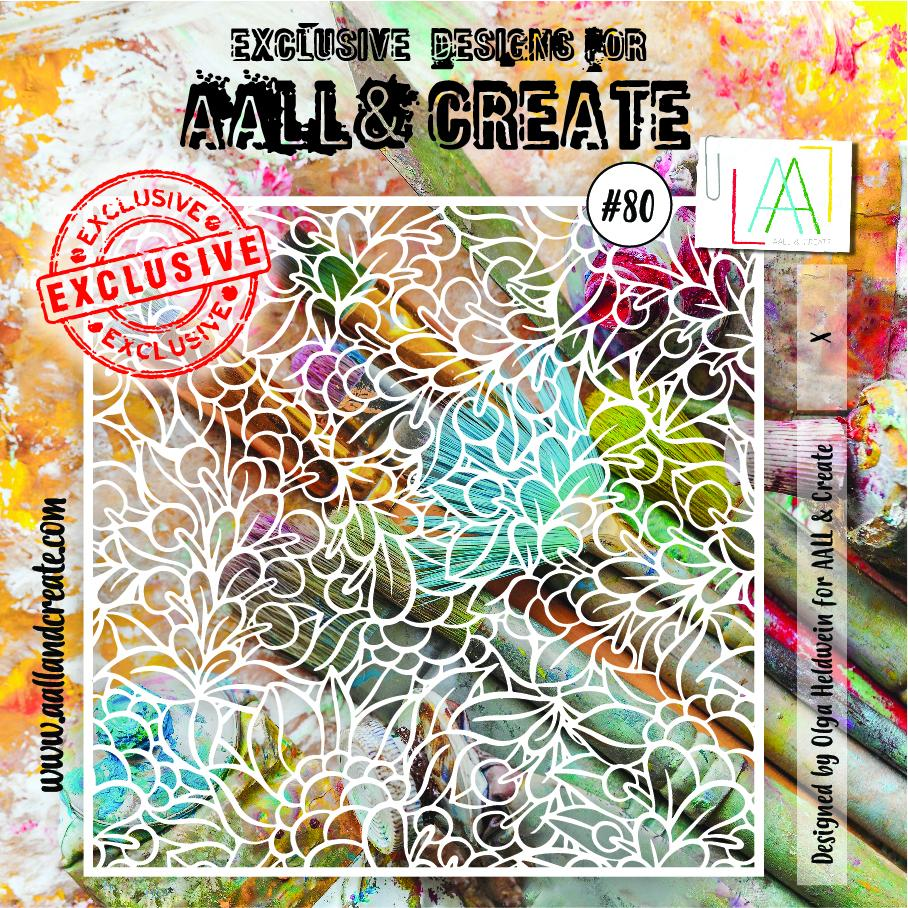 Aall&Create - 6 x 6 - #80 - Lushly Leafy
