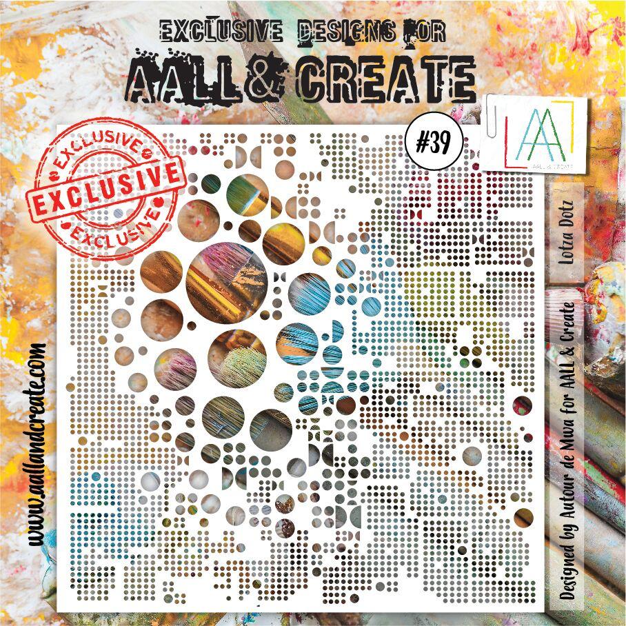 Aall&Create - 6 x 6 - #39 - Lotza Dots
