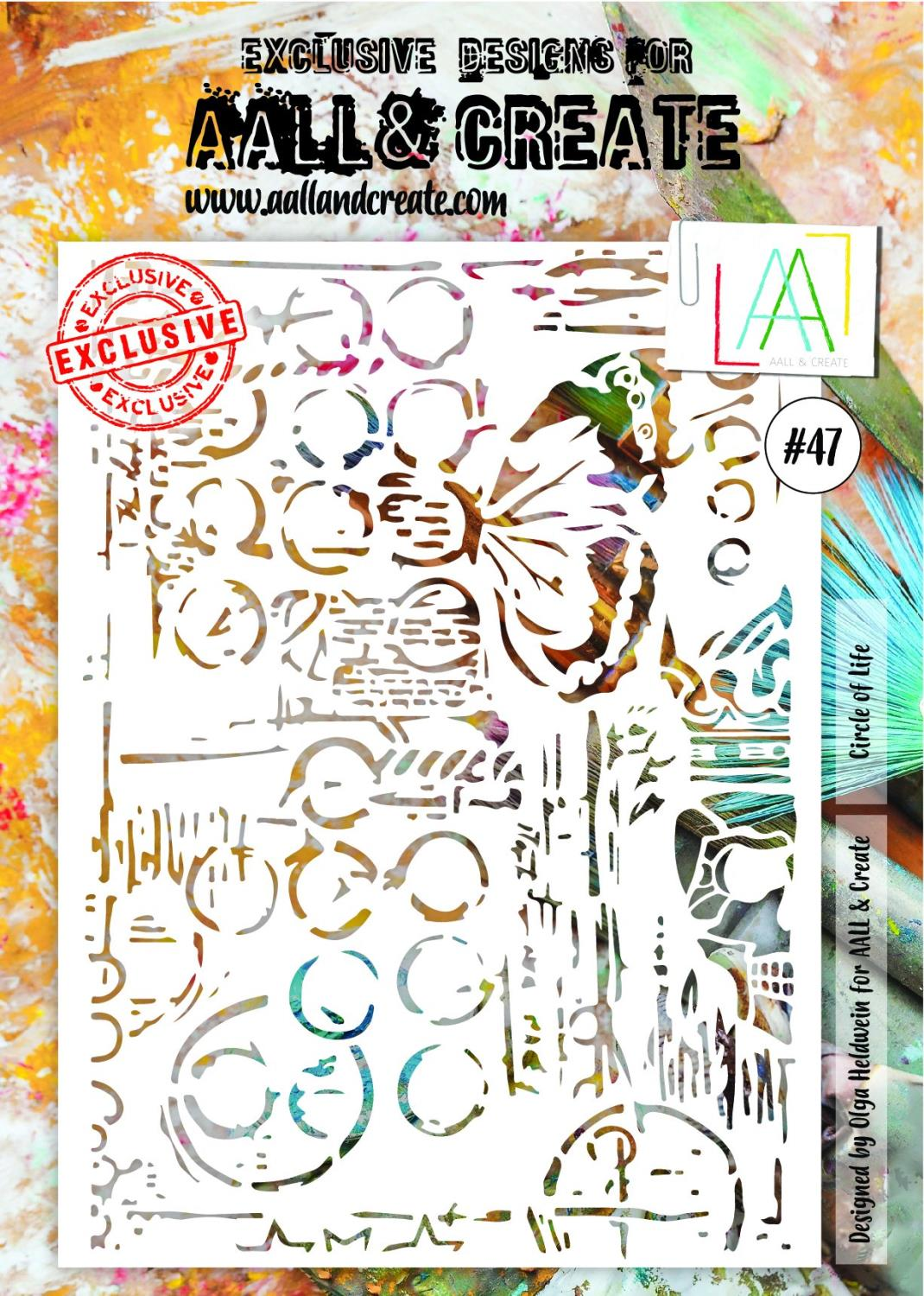 AAll&Create - A4 - #47 - Circle of Life