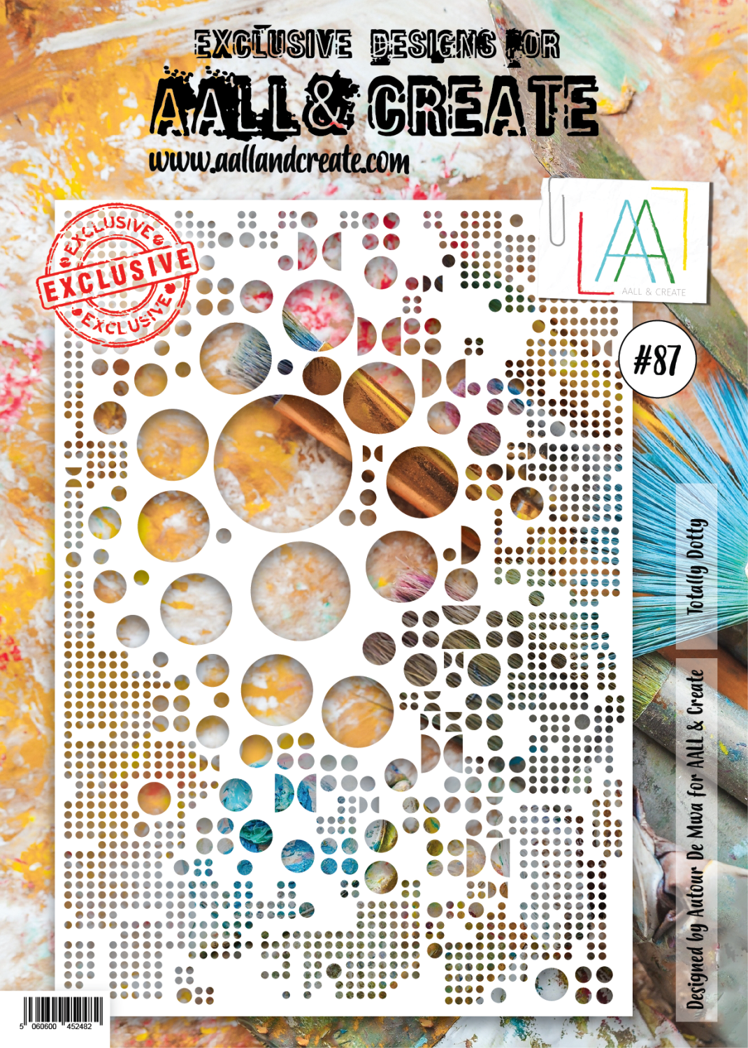 Aall&Create - A4 - #87 - Totally Dotty