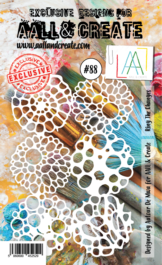 Ring the Changes #88 - A6 STENCIL - AAll&Create