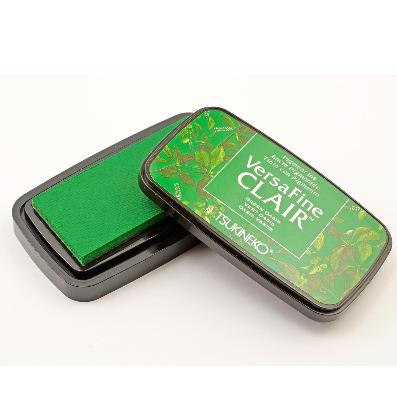 VersaFine clair vivid inkpad  - green oasis