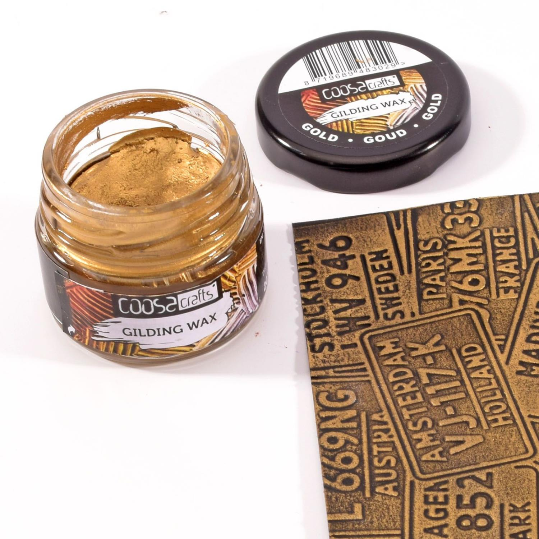 Gilding wax metal gold