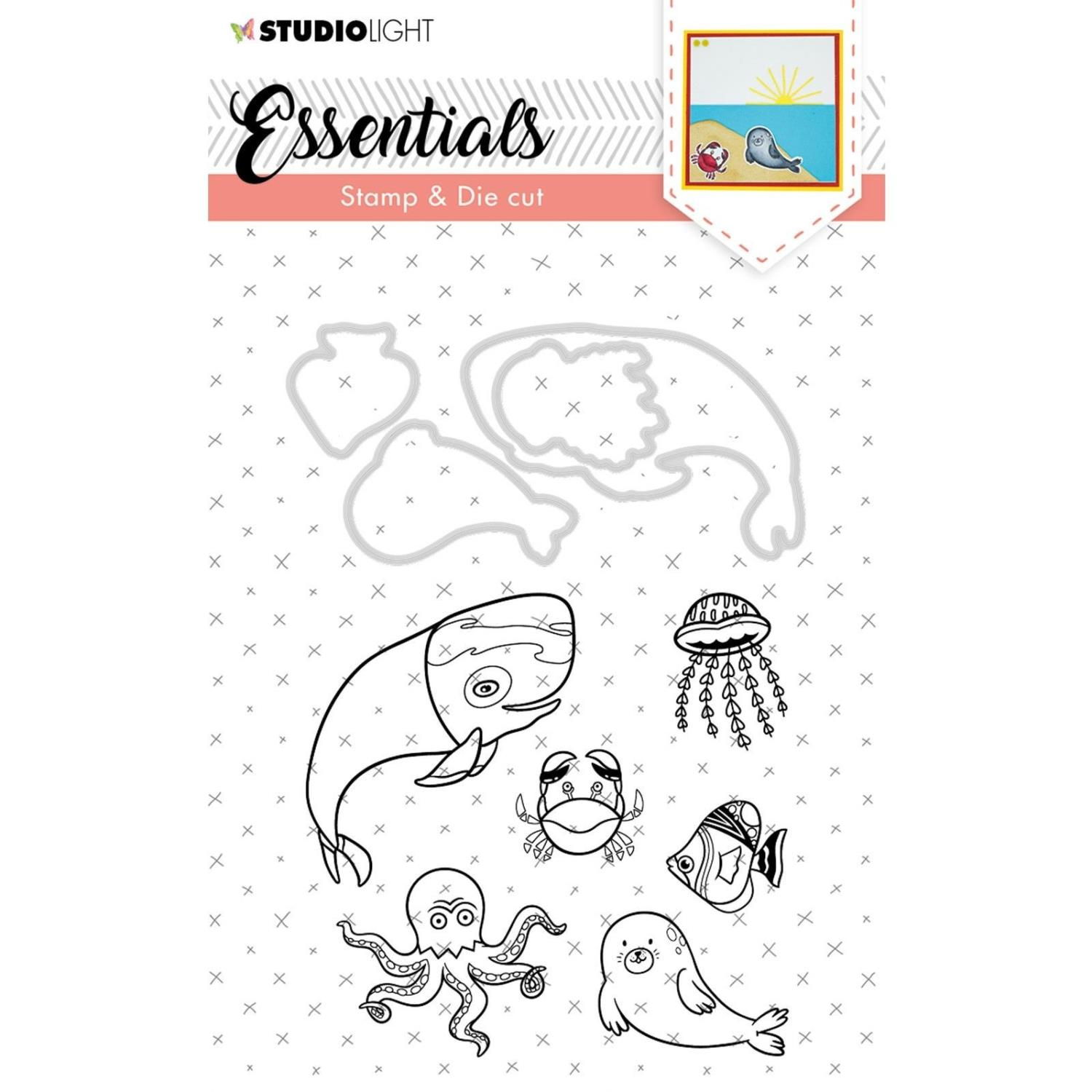 Studio Light • Stamp & die cut - A6 - Essentials nr.31