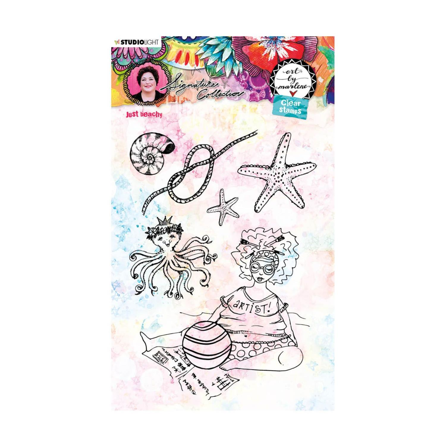 Art By Marlene - Studio Light • Clear stamp - Just beachy