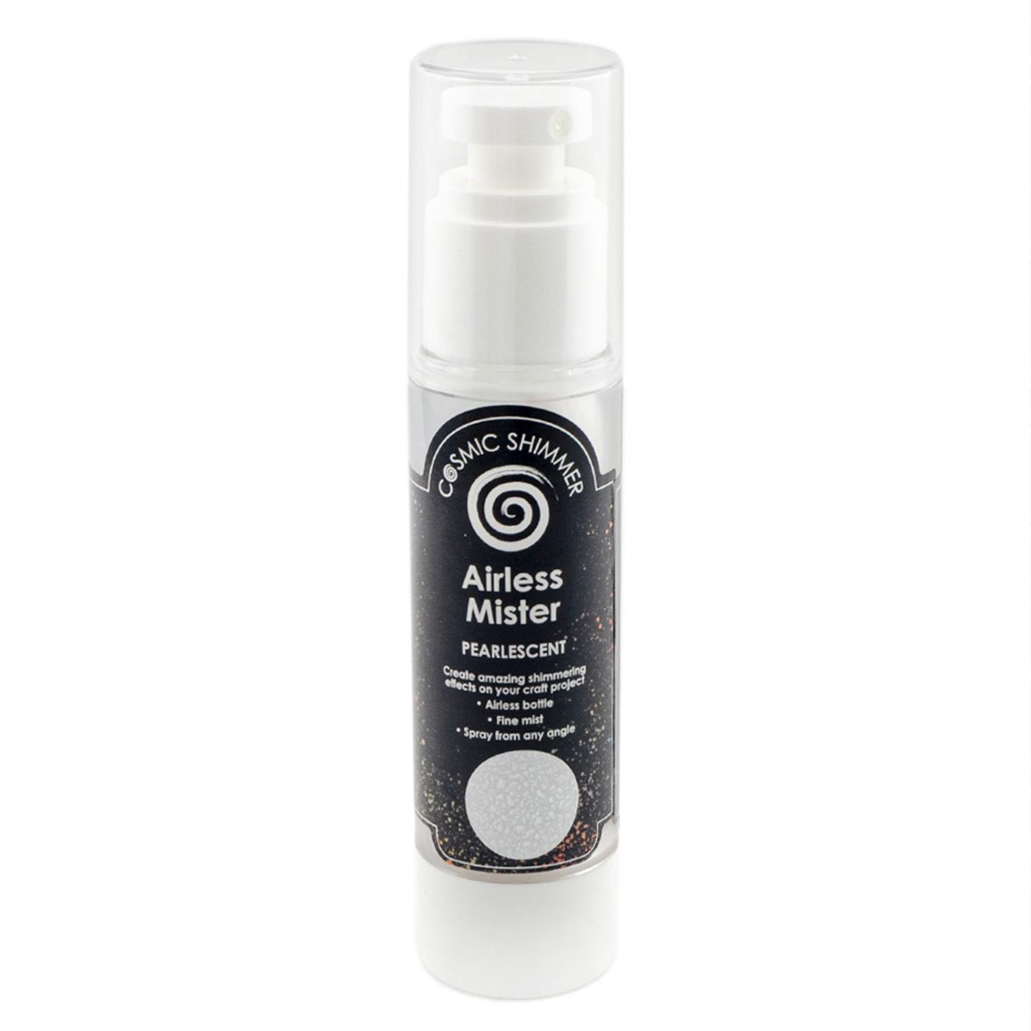 Cosmic shimmer pearlescent airless misters pearl whisper 50ml
