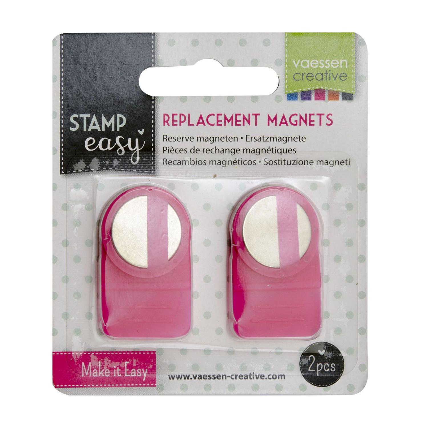 Stamp Easy Magnet replacement x2