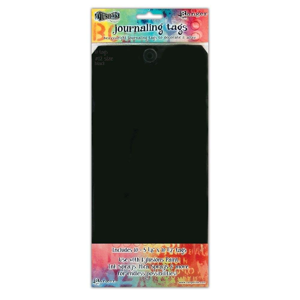 Ranger • Dylusions black tags 26,65x13cm