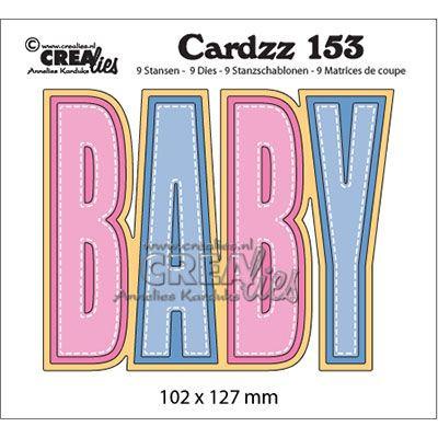 Crealies • Cardzz cutting die no.153 baby