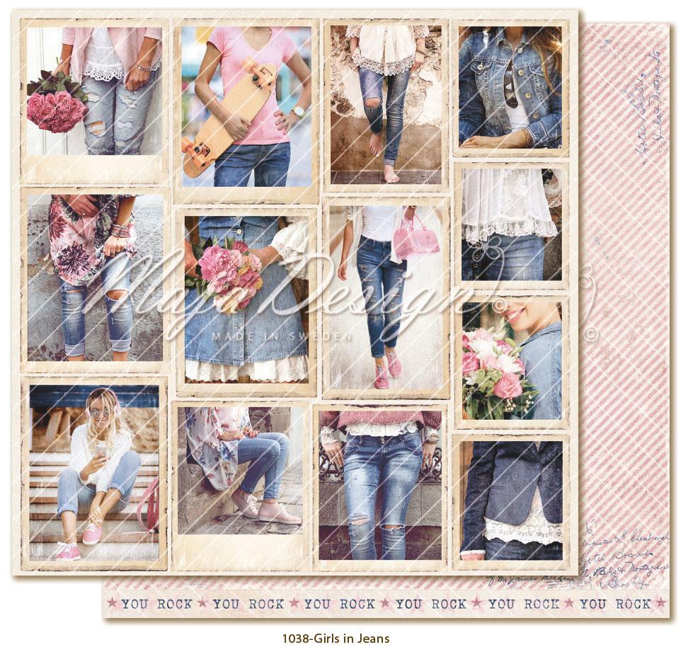 Denim & Girls - Snapshots - Girls in Jeans - Maja design