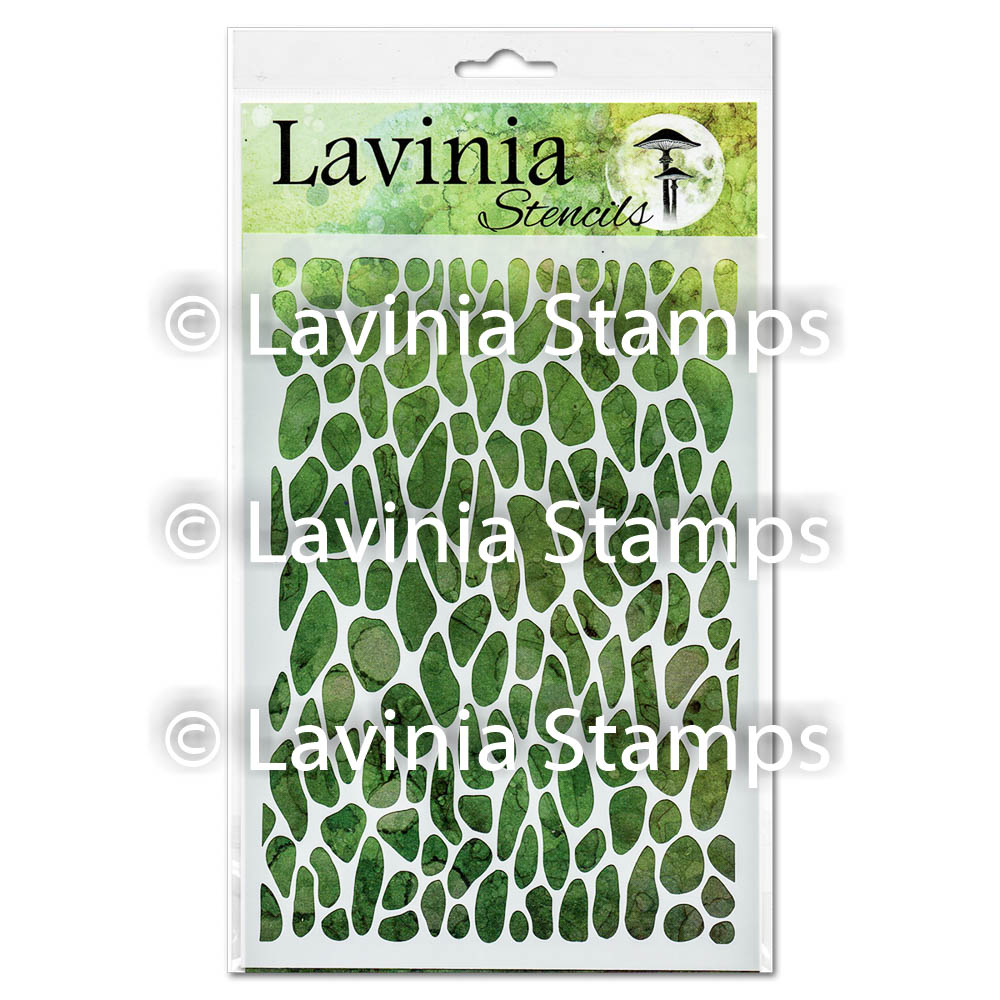 Crackle- Lavinia Stencils