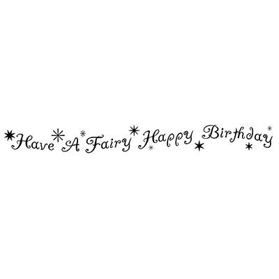 Fairy Happy Birthday LAV193