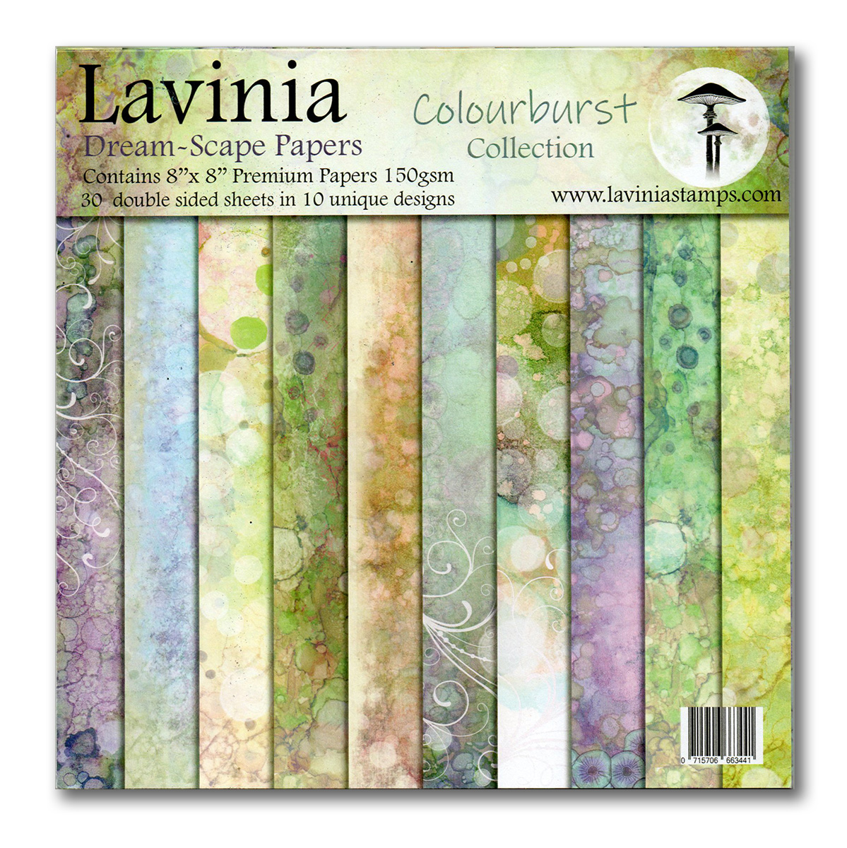 Dreamscape Papers. The Colourburst Collection - Lavinia