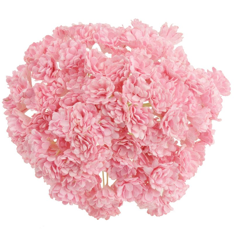 BABY PINK MULBERRY PAPER GYPSOPHILA FLOWERS