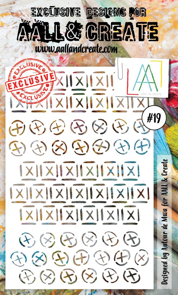 AAll & Create - #19 - A6 STENCIL
