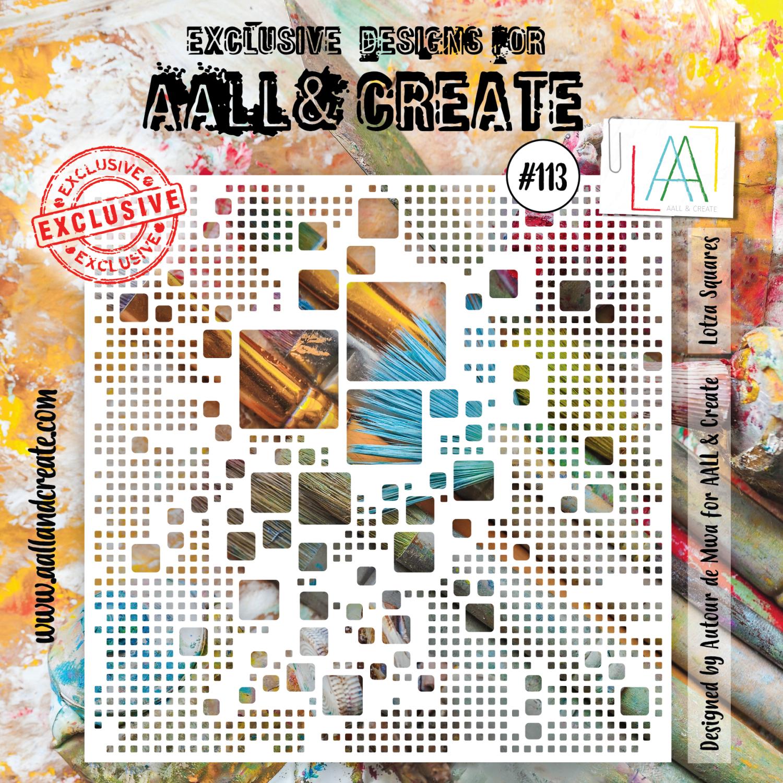 Aall&Create - 6 x 6 - #39 - Lotza Squares
