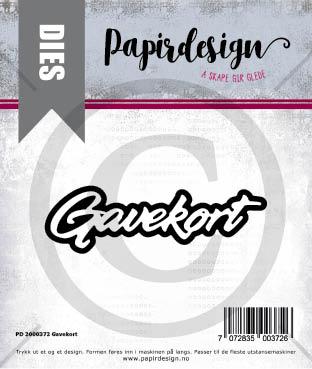 Papirdesign - Gavekort - Dies