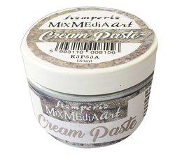 Stamperia Cream Paste 150ml - Metallic Silver