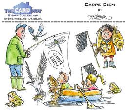 Carpe Diem- Stempel - Fisker