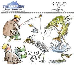 Carpe Diem- Stempel - Fisker2 - Chatch of the day