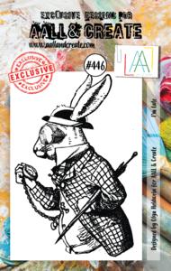 AAll&Create - I`m Late- #446- A7 STAMP -