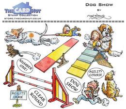 Dog Show- Stempel -