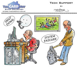Tech Support -Clear Stamps