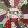 First Edition Winter Rose 12x12 Inch Paper Pad