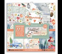 Stamperia Gratitude 12x12 Inch Paper Pack