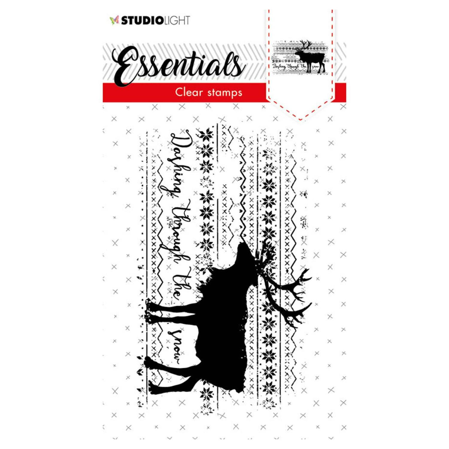 Studio Light • Clear stamp A7 Essentials nr.467