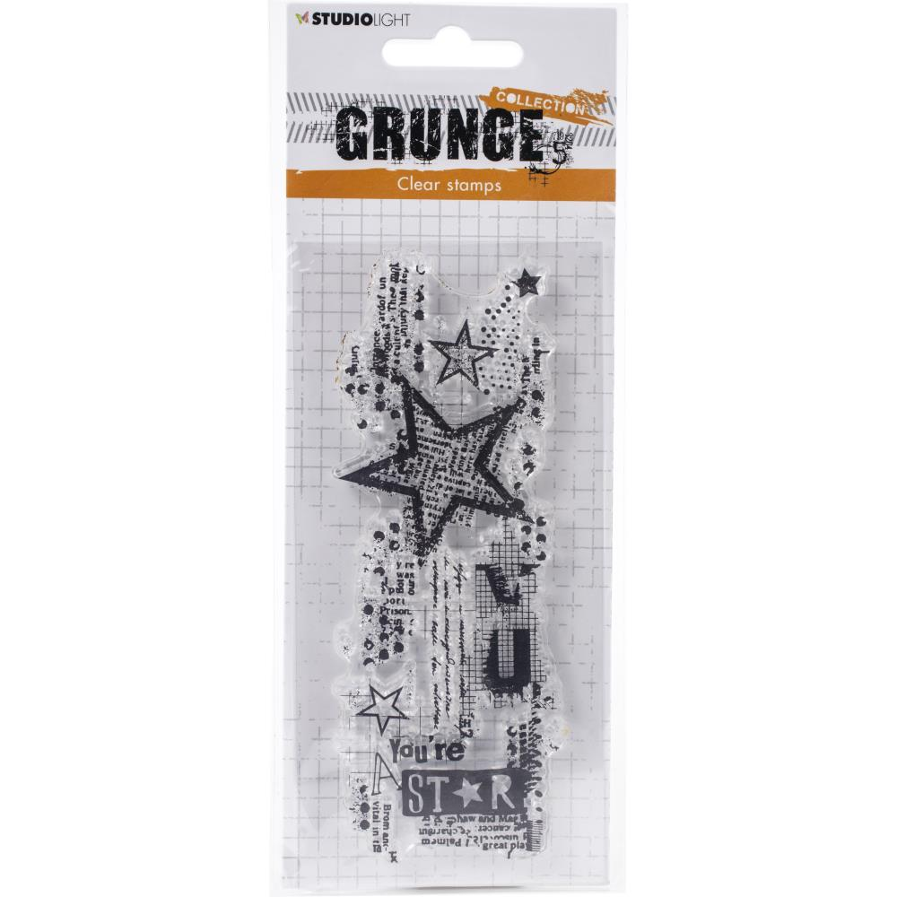 Studio Light Grunge 3.0 Collection A6 Stamp -411