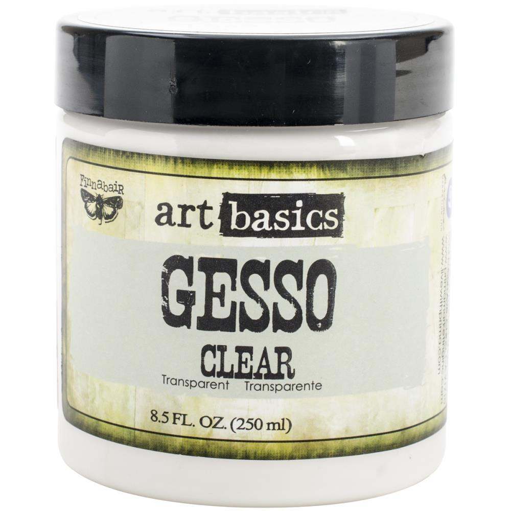 Finnabair Art Basics Heavy Gesso 8.5oz Clear