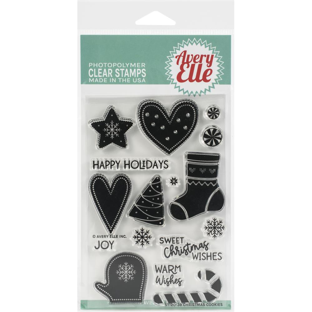 "Avery Elle Clear Stamp Set 4""X6"""