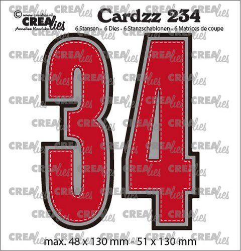 Crealies - 3 og 4  cardzz
