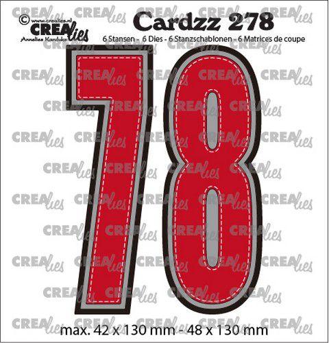 Crealies - 7 og 8 -  cardzz