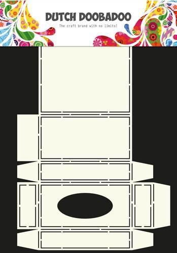 Dutch Doobadoo Dutch Box Art stencil handkerschief box A4