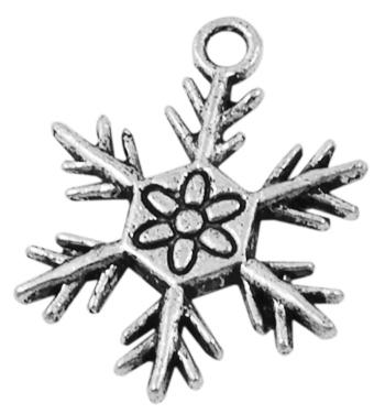 Snøfnugg sølv