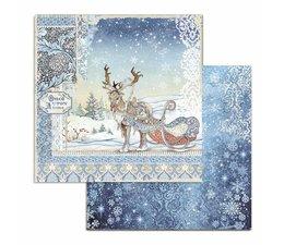 Stamperia Winter Tales Deer- Stamperia -