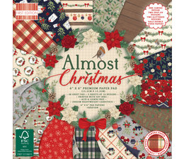 First Edition Almost Christmas 6x6 Inch Paper Pad