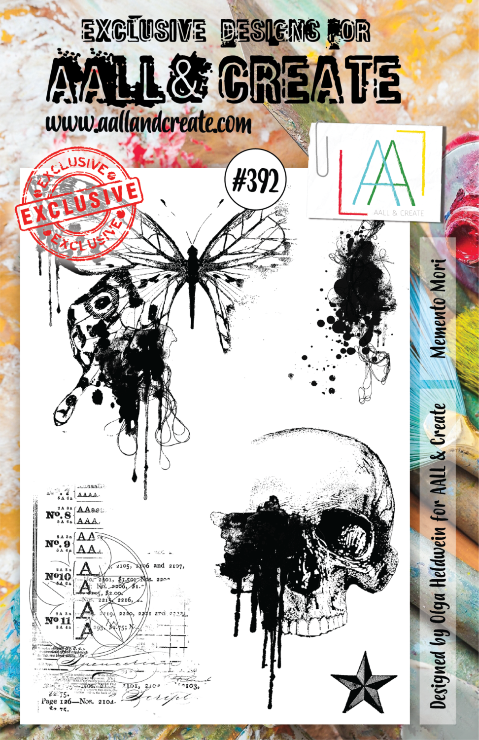 Aall&Create - A5 - #323 - Memento Mori