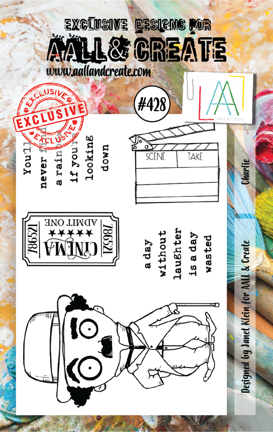 AAll&Create - Charlie- #428- A7 STAMP -
