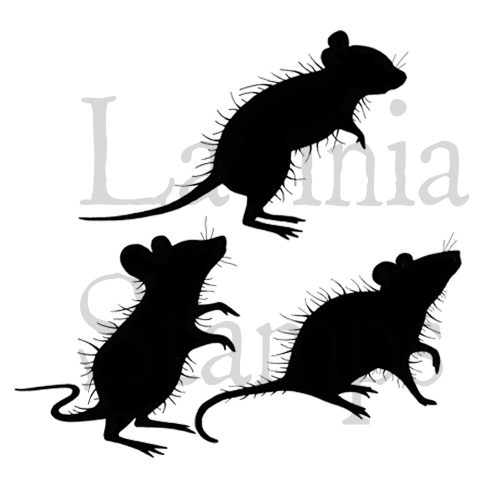 Three Woodland Mice - LAV402